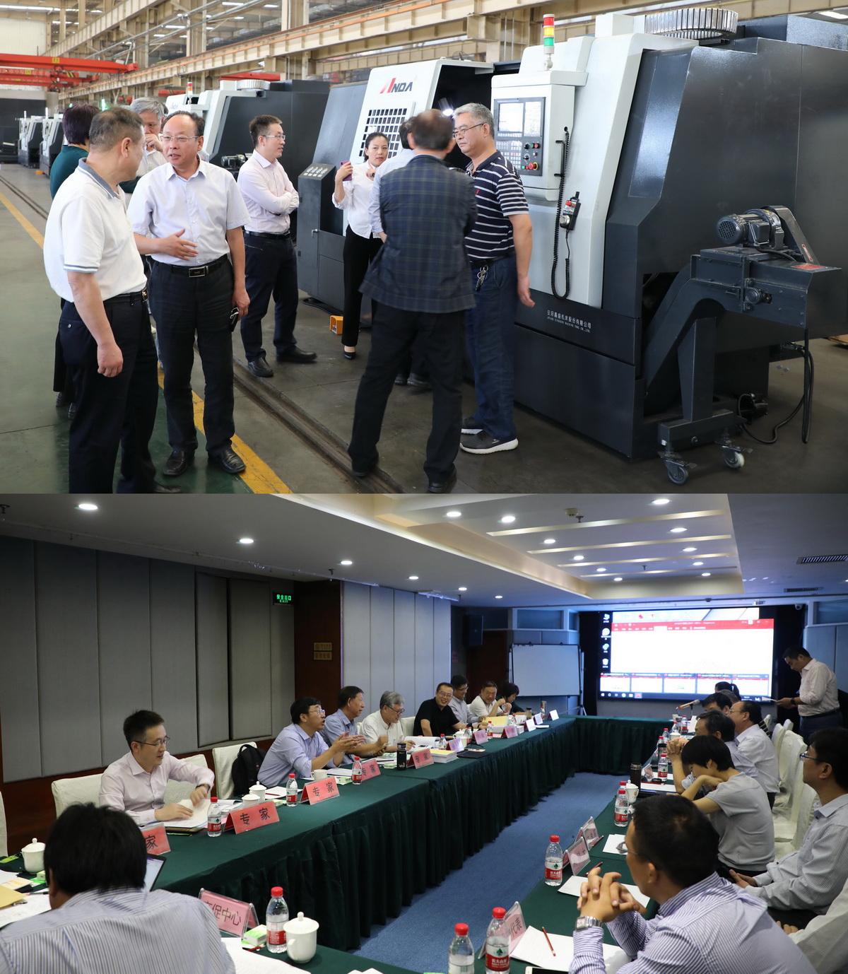 重大专项ADGM系列高速精密数控ballbet体育官网及车削中心成功验收